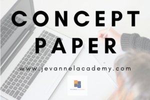 How To Make a Research Proposal – Concept Paper