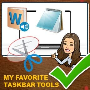 #PRODUCTIVITYTIPS: How I Customize My Taskbar To Help Me Be More Productive